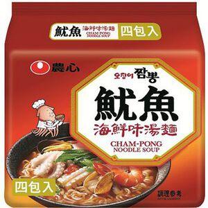 農心魷魚海鮮味湯麵(包)124g