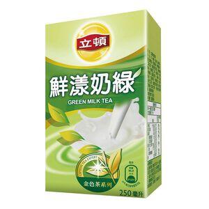 立頓鮮漾綠奶茶-250ml