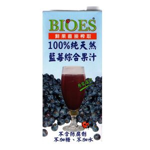 100 Blueberry with Apple Juice 1000ml