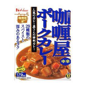 咖哩屋速食咖哩-豬肉中辣200g