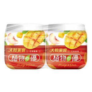 植物之優芒果蜜桃優格-200g到貨效期約6-8天