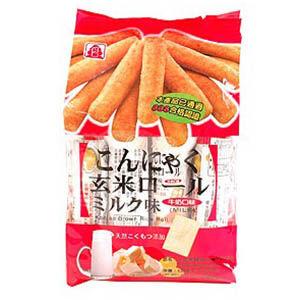 北田蒟蒻糙米捲160g(牛奶)