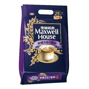 Maxwell House Latte 25 Bag