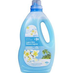 家樂福藍色清新香氛洗衣精