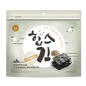 Chunpin HiBs Seasoned Seaweed PEPPER