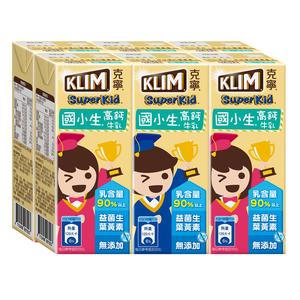 克寧國小生牛奶198mlx6