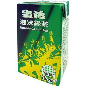 生活泡沫綠茶-微甜TP250ml