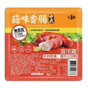 家樂福中式蒜味香腸