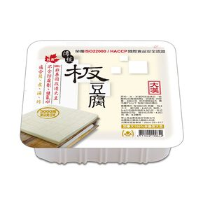 大漢傳統板豆腐(非基改)