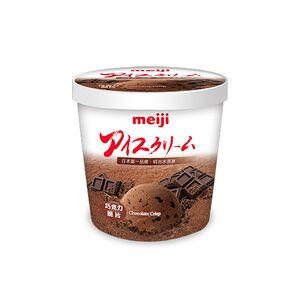 明治巧克力脆片冰淇淋