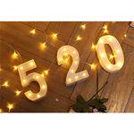 驛森町文創LED數字燈520, , large