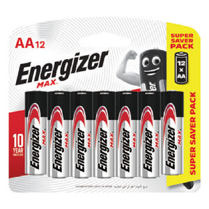 12pcs#3(Shd)Energizer_Battery