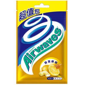 Airwaves口香糖超值包-蜂蜜檸檬62g