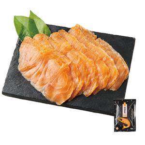 Somkey salmon slice