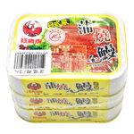 紅鷹牌日式蒲燒鰻100g, , large