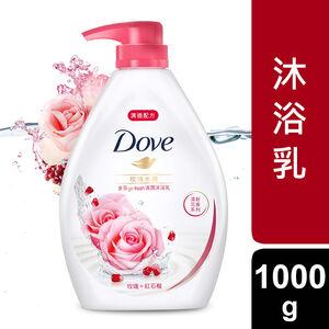 【多芬】玫瑰水嫩清潤沐浴乳