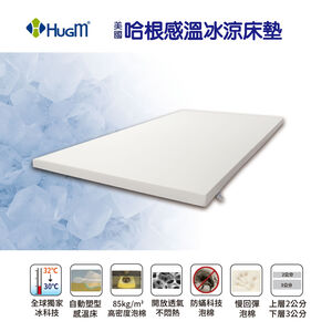 HUGM Ice Sensitive Foam Mattress Double