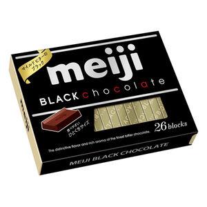 明治代可可脂黑巧克力26枚盒裝
