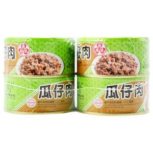 廣達香瓜仔肉110g
