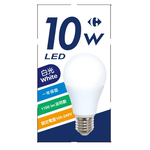 家樂福LED燈泡10w, 白光, large