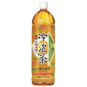 冷泡茶冰釀烏龍無糖Pet1235 ml
