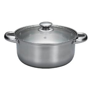 SILWA Steel Pot 22cm