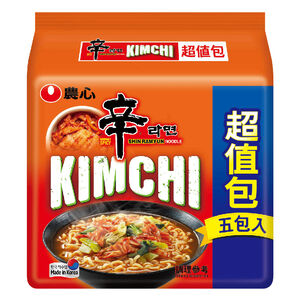 Nongshim Shin Kimchi Ramyun