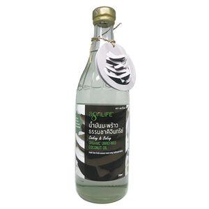 Organic Unrefined Coconut Oil 750ml