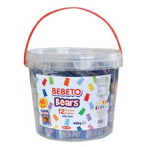 980g Bebeto Mini Bears Gummy
