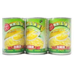 台鳳非基因改造玉米醬 410g