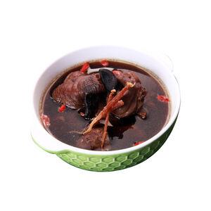 Black Garlic Ginseng Chicken Soup