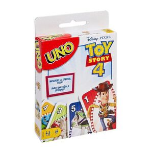 【桌遊】UNO玩具總動員4遊戲卡