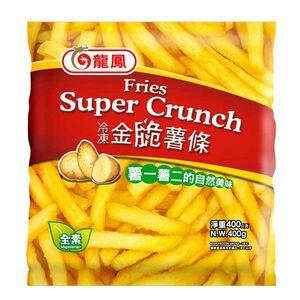龍鳳冷凍金脆薯條400g