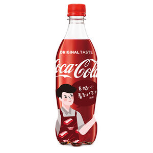 可口可樂Pet 600mlx4