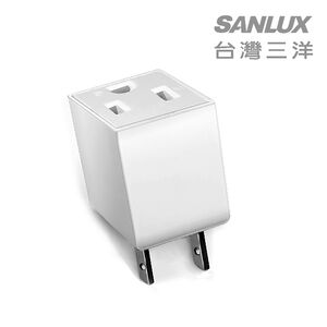 Sanlux 3Pto 2P Power Plug Adapter