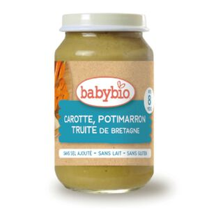 Babybio Carrot Pumpkin Trout Jar