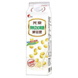 光泉無加糖鮮豆漿-936ml到貨效期約6-8天