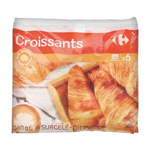 C-Frozen Croissants 6 pcs