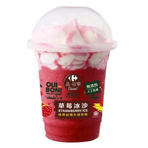 家樂福冰沙-草莓