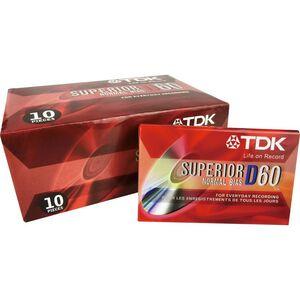 TDK D60分鐘空白錄音帶