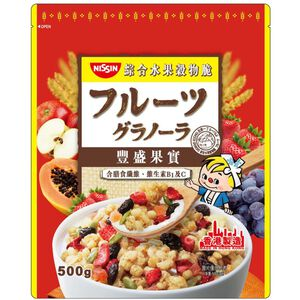 日清豐盛果實綜合水果穀物脆-500g