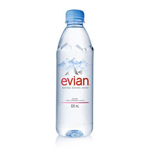 Evian Mineral Water-PET500
