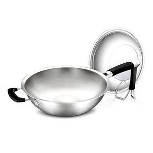 ASD smokeless wok 36cm