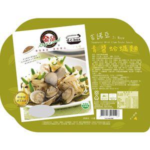 吉諾亞青醬蛤蠣麵-390g