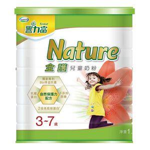 豐力富Nature 3-7歲兒童奶粉-1500g