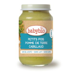 Babybio Peas Potato Cod Jar