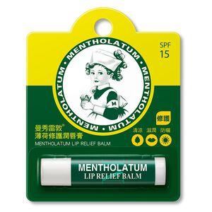曼秀雷敦薄荷修護潤唇膏-3.5g
