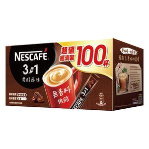 雀巢咖啡三合一濃醇原味-15gx100入
