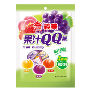 義美綜合果汁QQ糖-176g