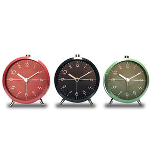 TW-8571 Metal Silent Clock